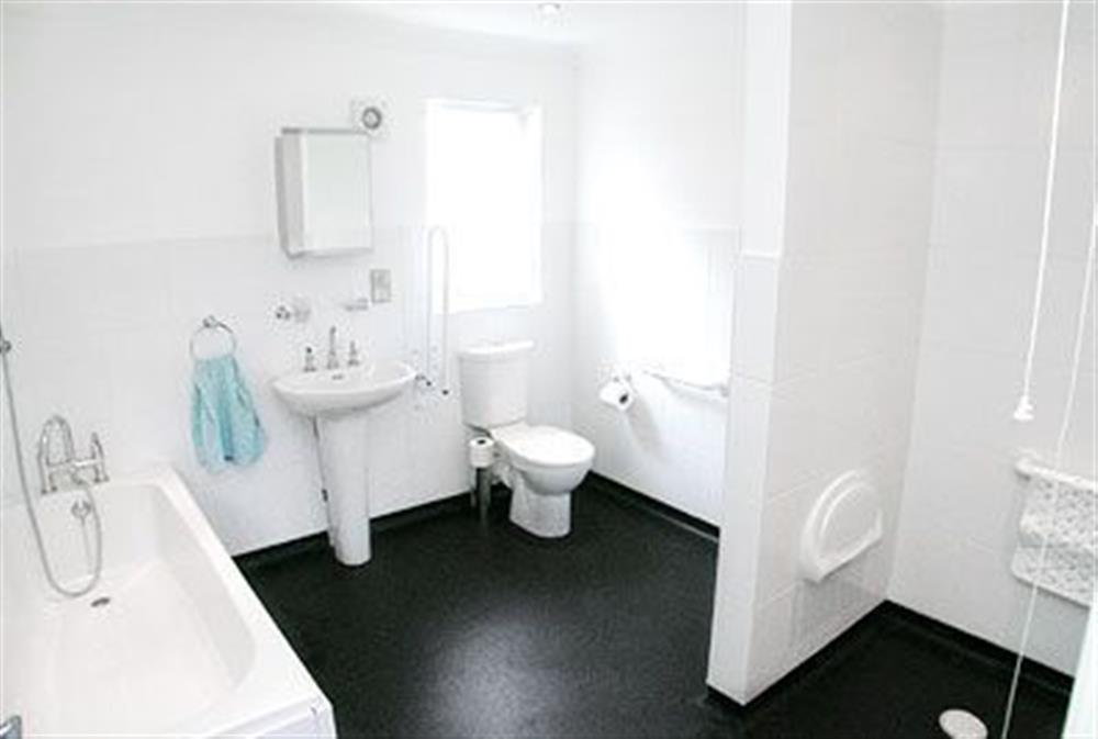 Bathroom at The Beeches in Sea Palling, Norfolk. , Great Britain