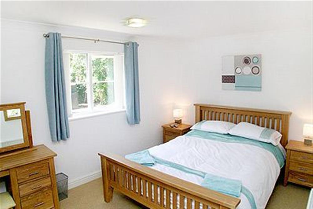 Double bedroom at The Beeches in Sea Palling, Norfolk. , Great Britain