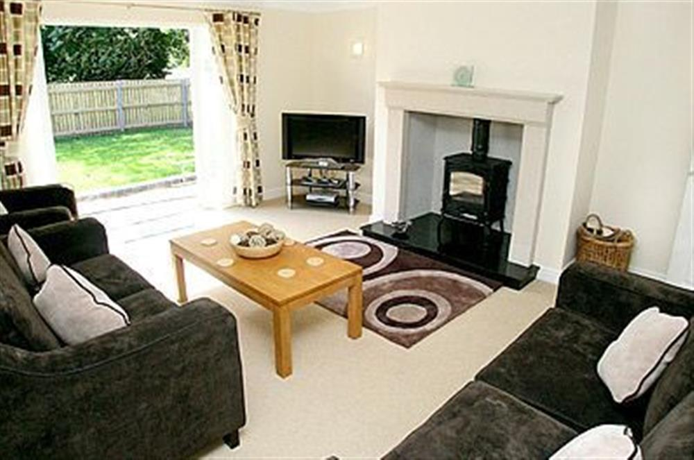 Living room at The Beeches in Sea Palling, Norfolk. , Great Britain