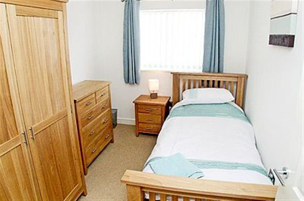Single bedroom at The Beeches in Sea Palling, Norfolk. , Great Britain
