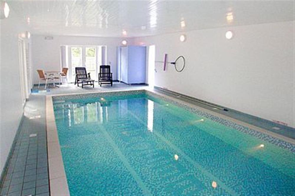 Swimming pool at The Beeches in Sea Palling, Norfolk. , Great Britain