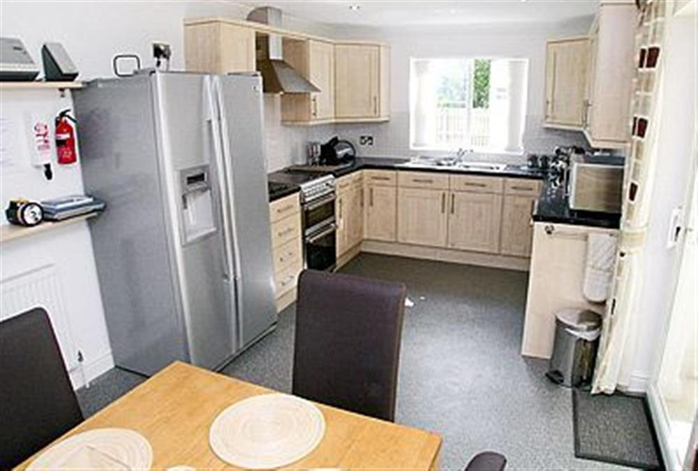 The kitchen at The Beeches in Sea Palling, Norfolk. , Great Britain