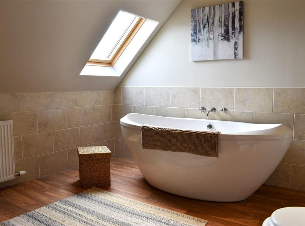 Bathroom at The Big Hoose in Linside, Sutherland