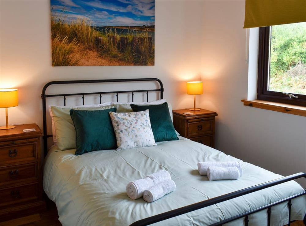 Double bedroom at The Big Hoose in Linside, Sutherland