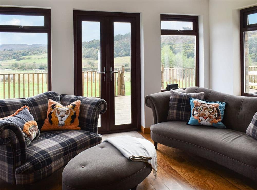 Sitting room at The Big Hoose in Linside, Sutherland