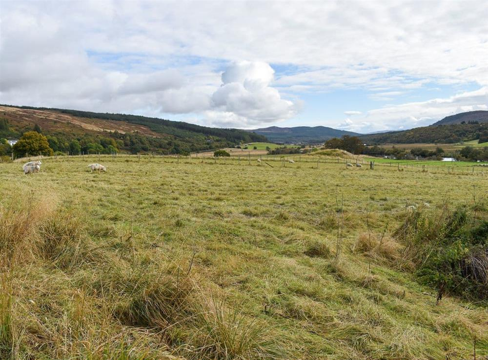 Surrounding area at The Big Hoose in Linside, Sutherland