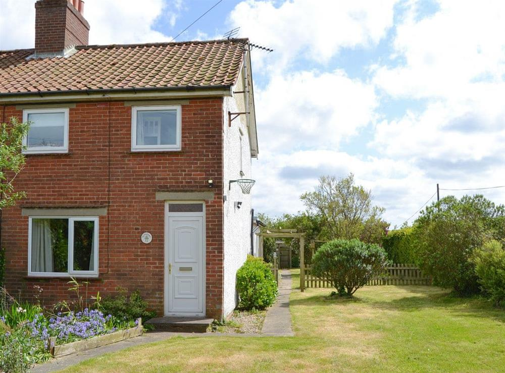Attractive semi-detached cottage with garden at The Boat House in Catfield, near Ludham, Norfolk