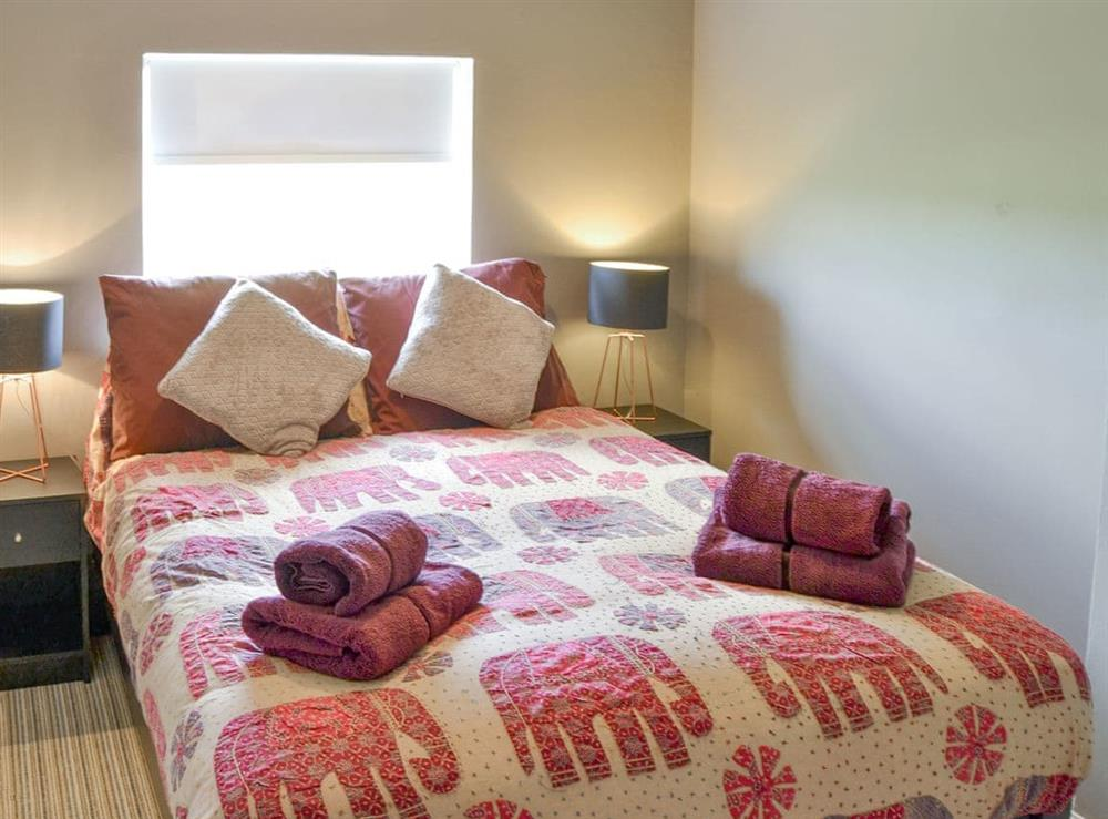 Comfortable double bedroom at The Boat House in Catfield, near Ludham, Norfolk