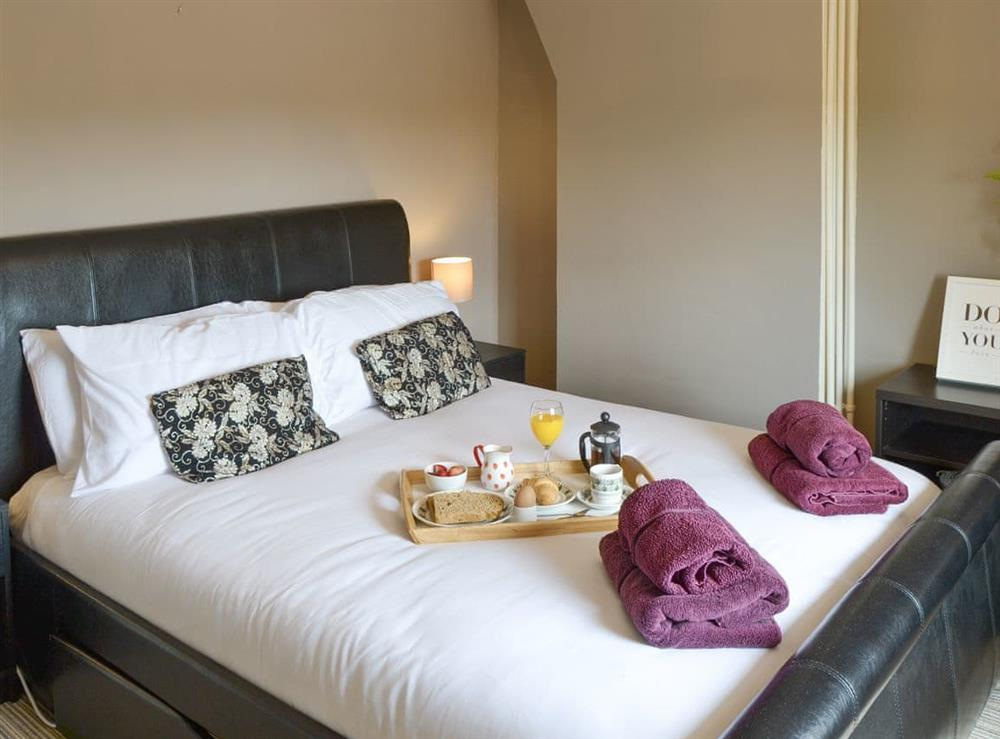 Relaxing double bedroom at The Boat House in Catfield, near Ludham, Norfolk