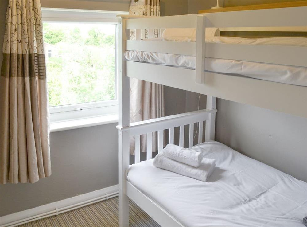Useful bunk bedroom at The Boat House in Catfield, near Ludham, Norfolk