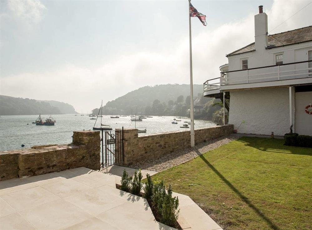 View at The Boat House in Dartmouth, South Devon., Great Britain