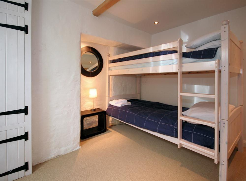 Bunk bedded room