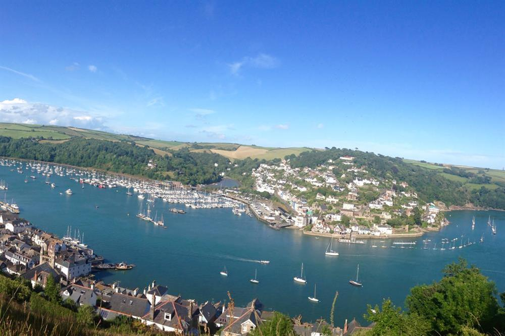 Dartmouth harbour and the River Dart