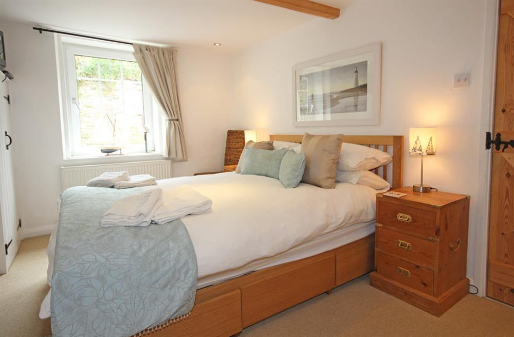 Master bedrom with king size bed