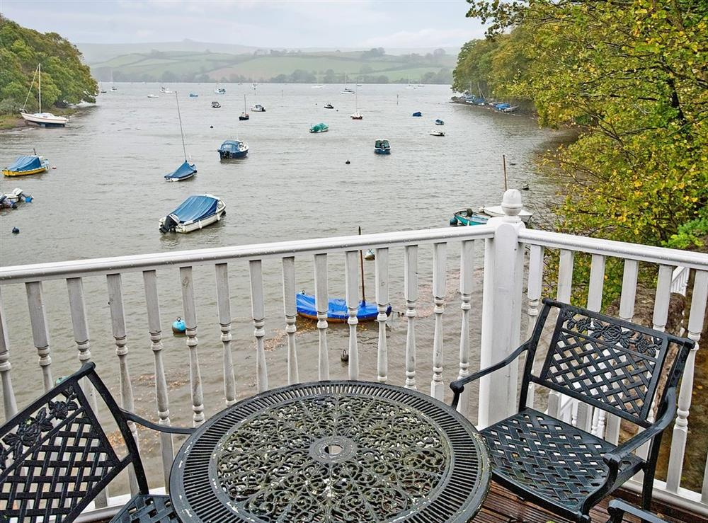View at The Boathouse in Stoke Gabriel, Devon., Great Britain