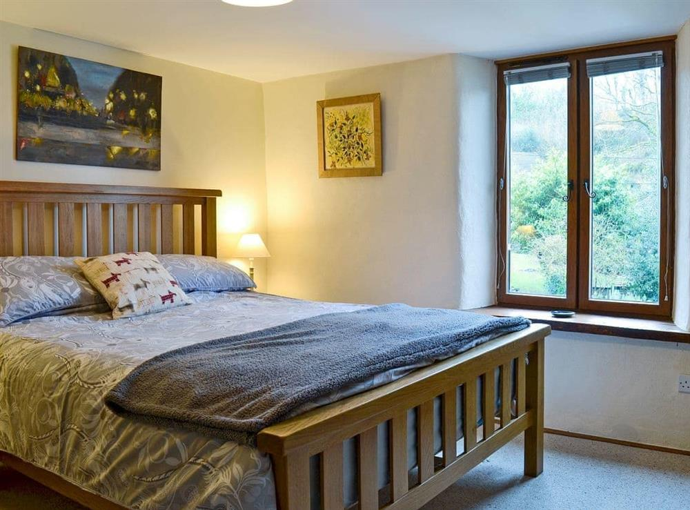 Double bedroom at The Bolt Hole  in Milton Coombe , Devon