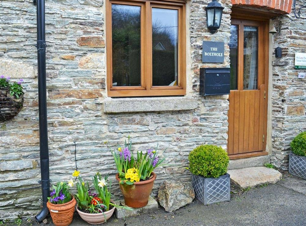 Exterior at The Bolt Hole  in Milton Coombe , Devon