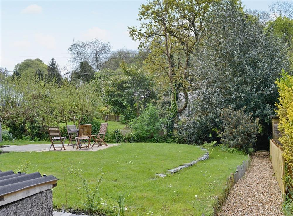 Garden at The Bolt Hole  in Milton Coombe , Devon