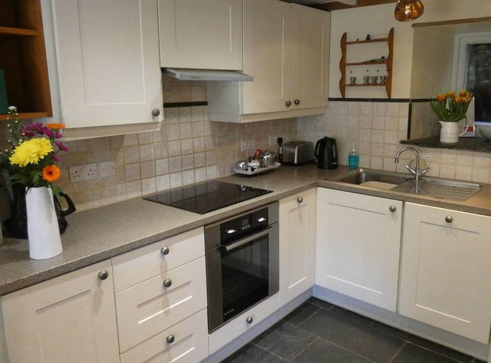Kitchen at The Bolt Hole  in Milton Coombe , Devon