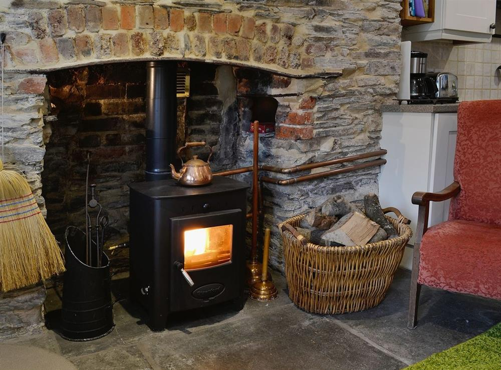 Open plan living/dining room/kitchen at The Bolt Hole  in Milton Coombe , Devon