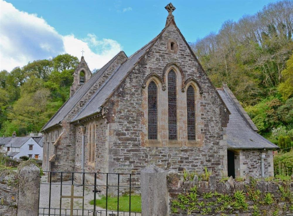 Surrounding area at The Bolt Hole  in Milton Coombe , Devon