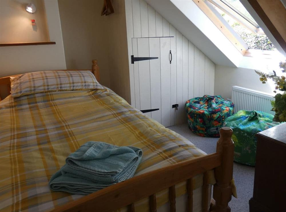 Twin bedroom at The Bolt Hole  in Milton Coombe , Devon