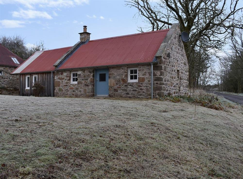 Delightful rural getaway in north-east Scotland at The Bothy in Glen of Newmill, near Keith, Banffshire