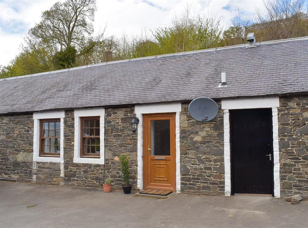 Exterior at The Bothy in Walkerburn, near Peebles, The Scottish Borders, Peebleshire