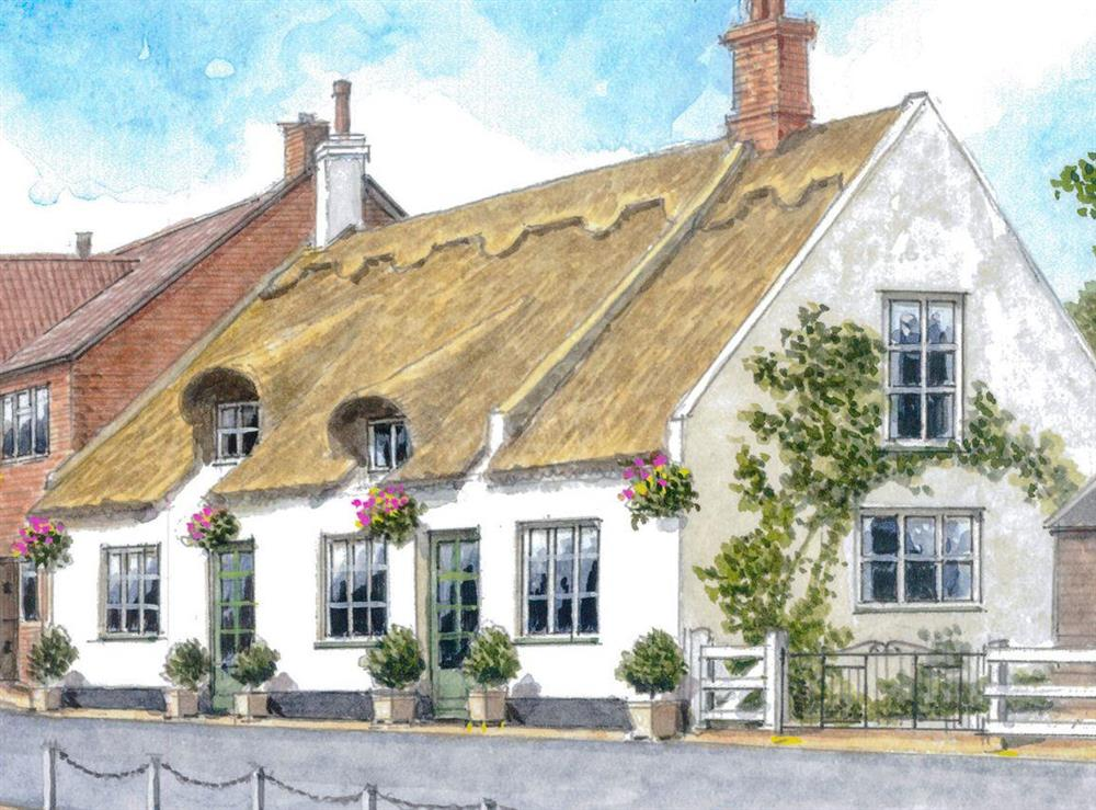 Artist's Impression at The Brambles in Horning, near Norwich , Norfolk