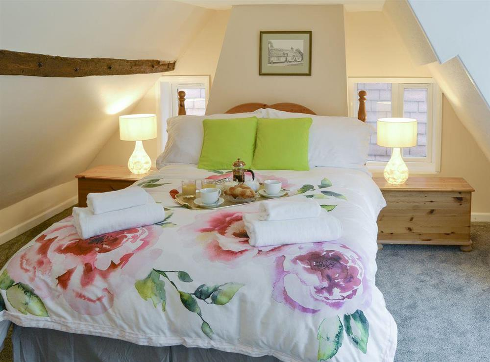 Characterful double bedroom at The Brambles in Horning, near Norwich , Norfolk