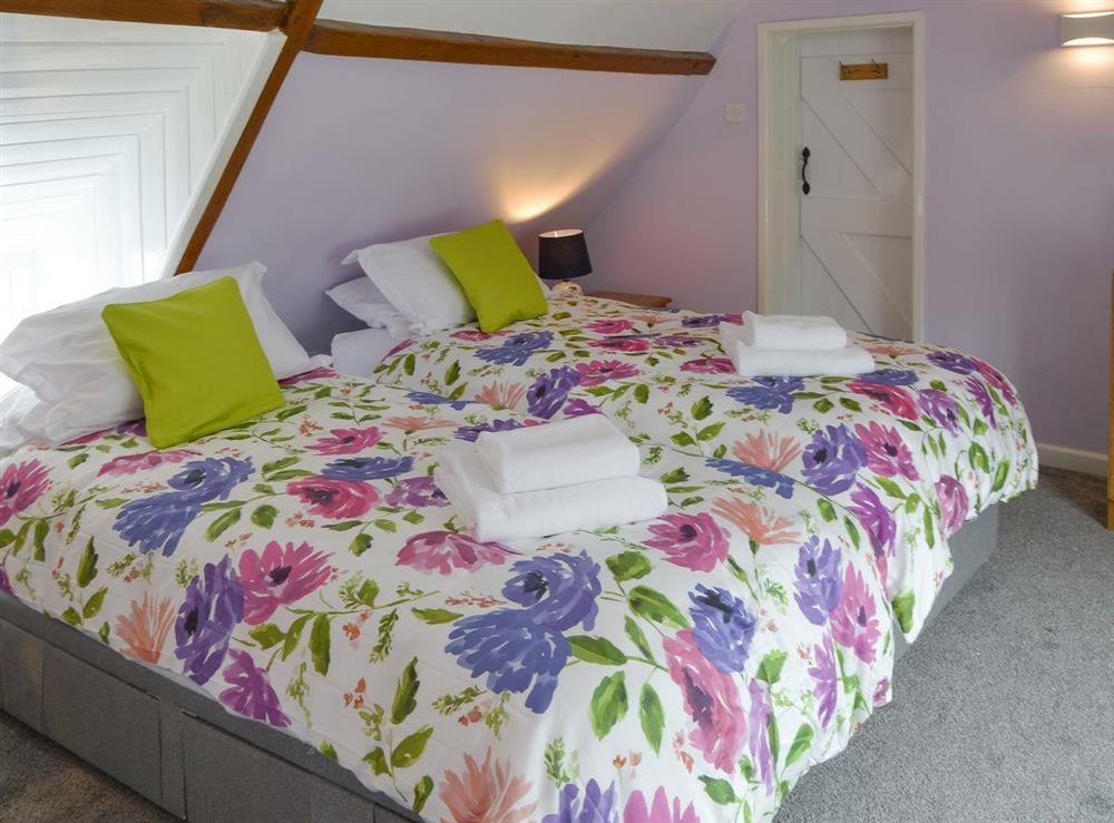 Comfortable twin bedroom at The Brambles in Horning, near Norwich , Norfolk