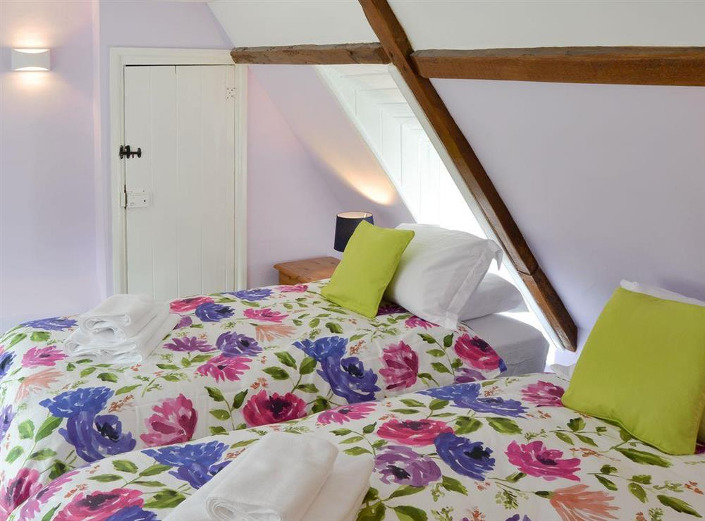 Good-sized twin bedroom at The Brambles in Horning, near Norwich , Norfolk