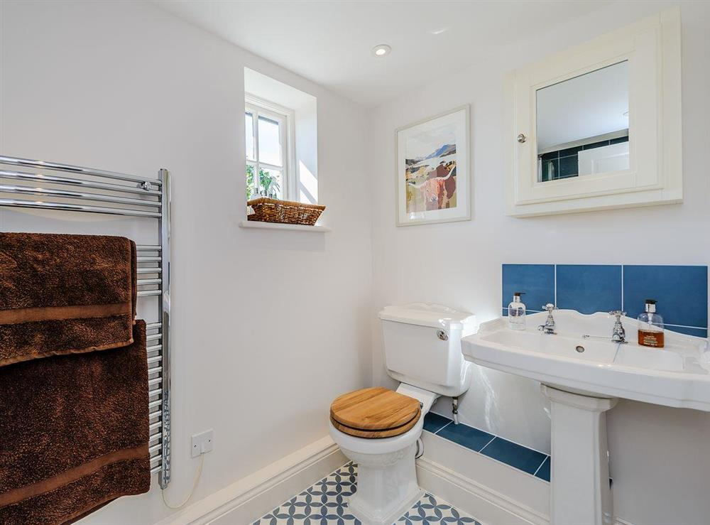 Bathroom at The Bull Pen in Lawford, Essex, England