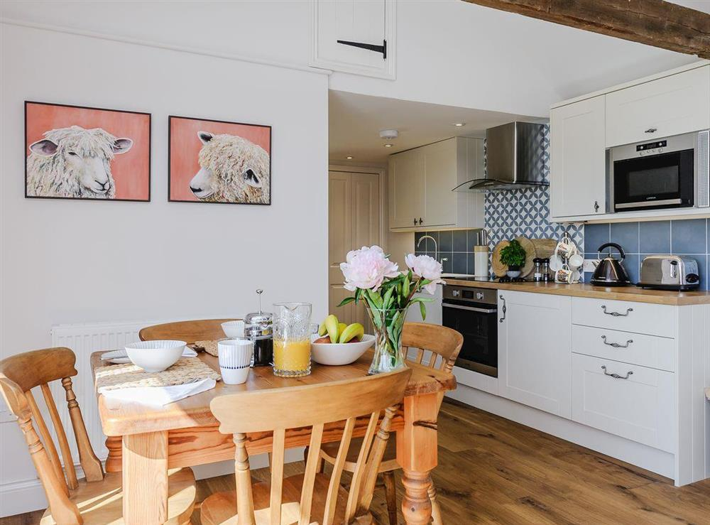 Dining area & kitchen at The Bull Pen in Lawford, Essex, England