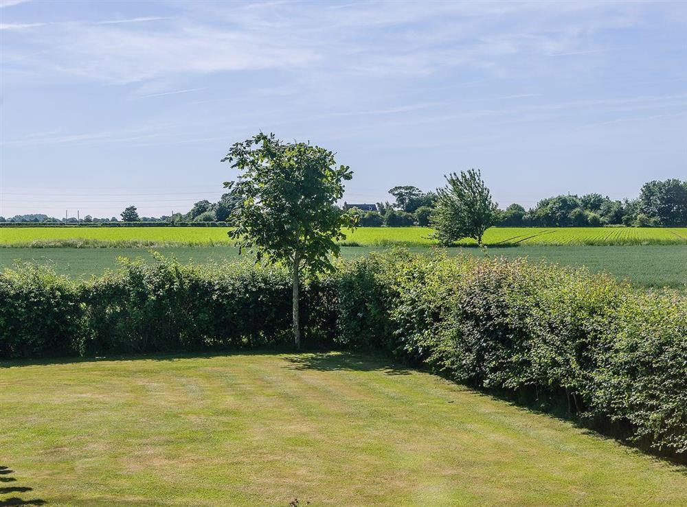 Great countryside views at The Bull Pen in Lawford, Essex, England