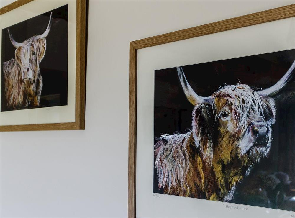 Wall art at The Bull Pen in Lawford, Essex, England