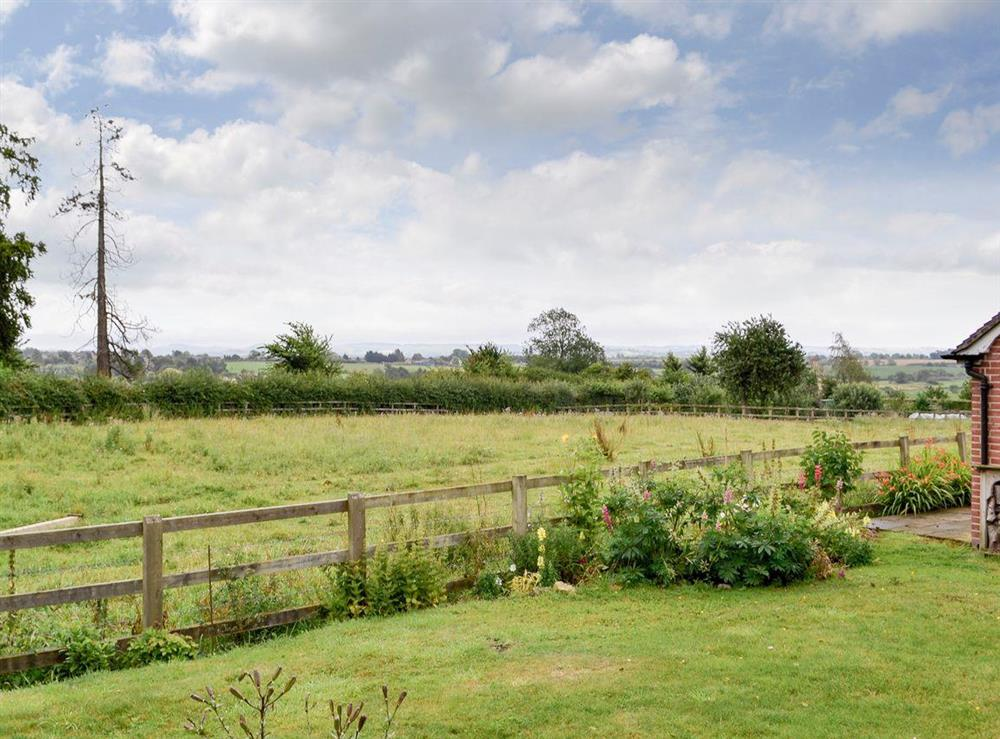 Stunning panoramic views at The Byre in Fifehead Magdalen, near Gillingham, Dorset