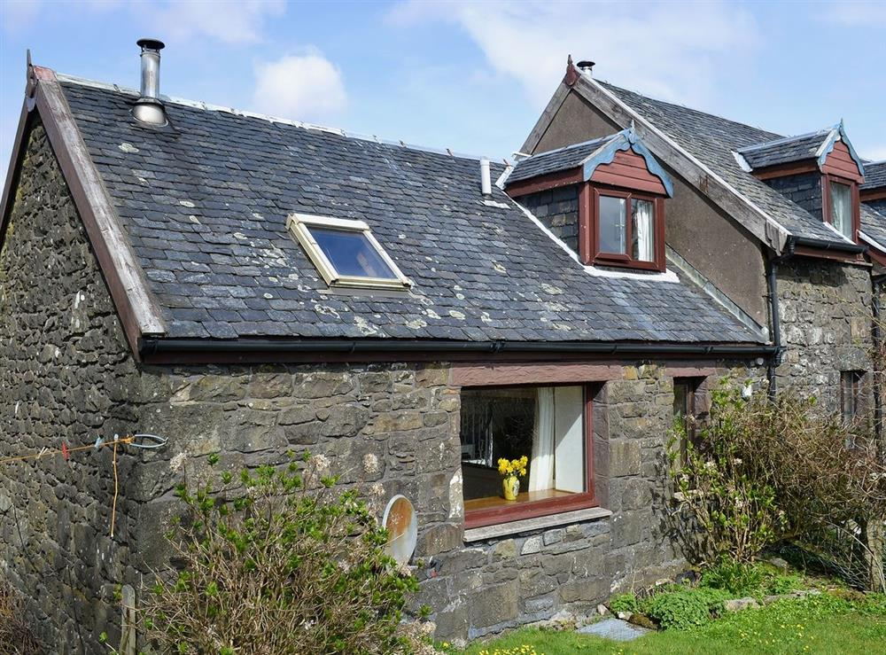 Exterior at The Byre in Kilchoan, Argyll