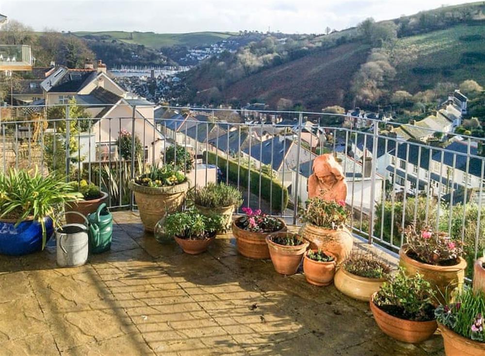 Wonderful views ovr Dartmouth at The Cabin in Dartmouth, Devon