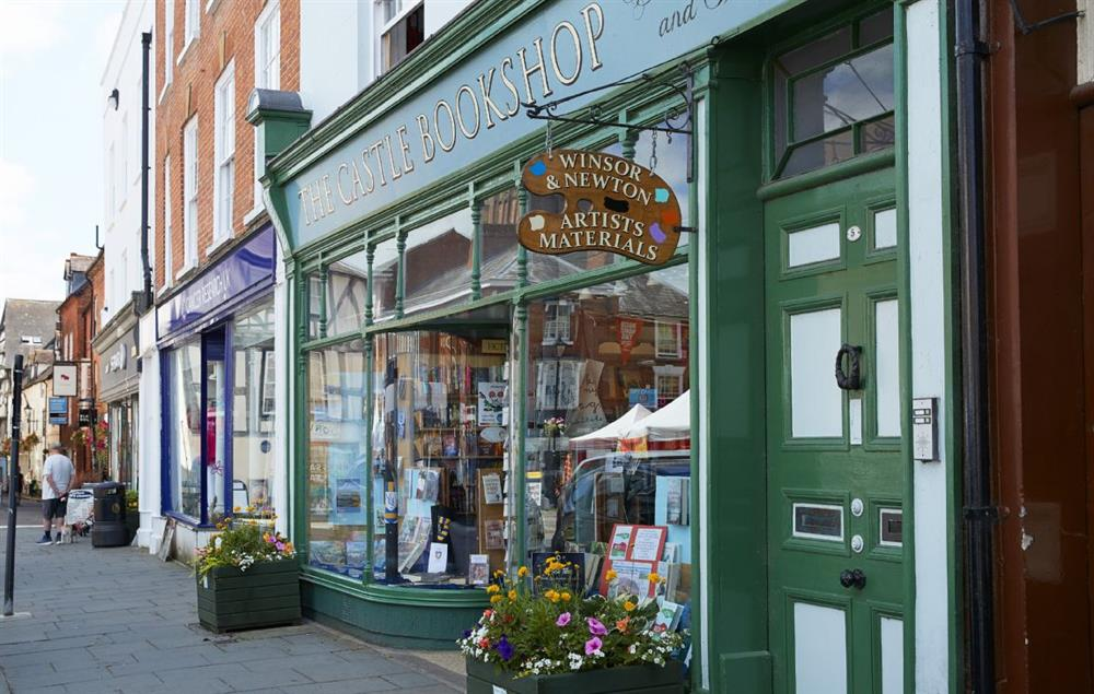 Independent shops in Ludlow