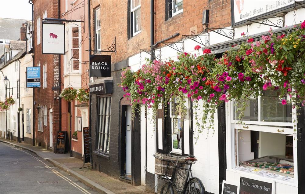 Ludlow is a renowned for its many excellent restaurants