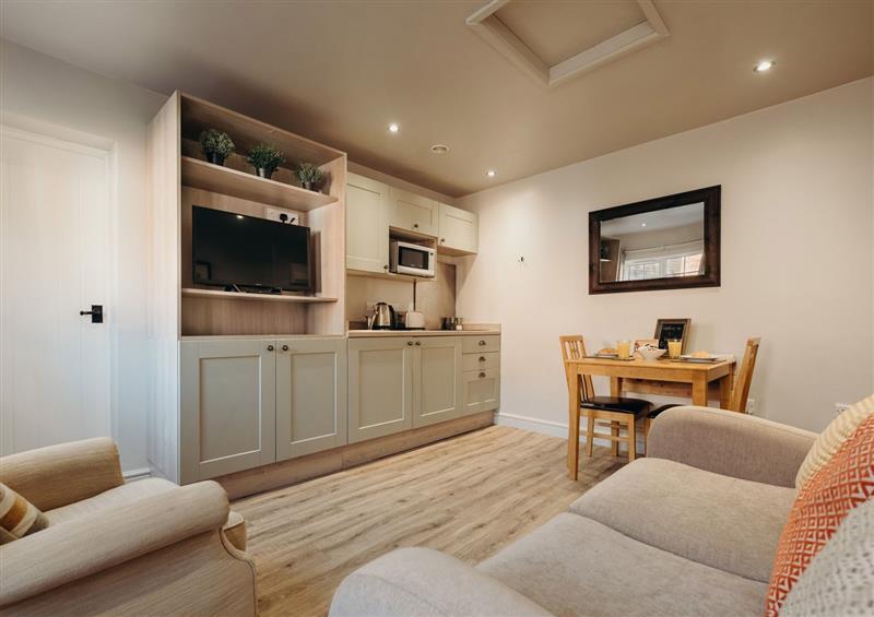 Enjoy the living room at The Carver Apartment, West Drayton near Markham Moor