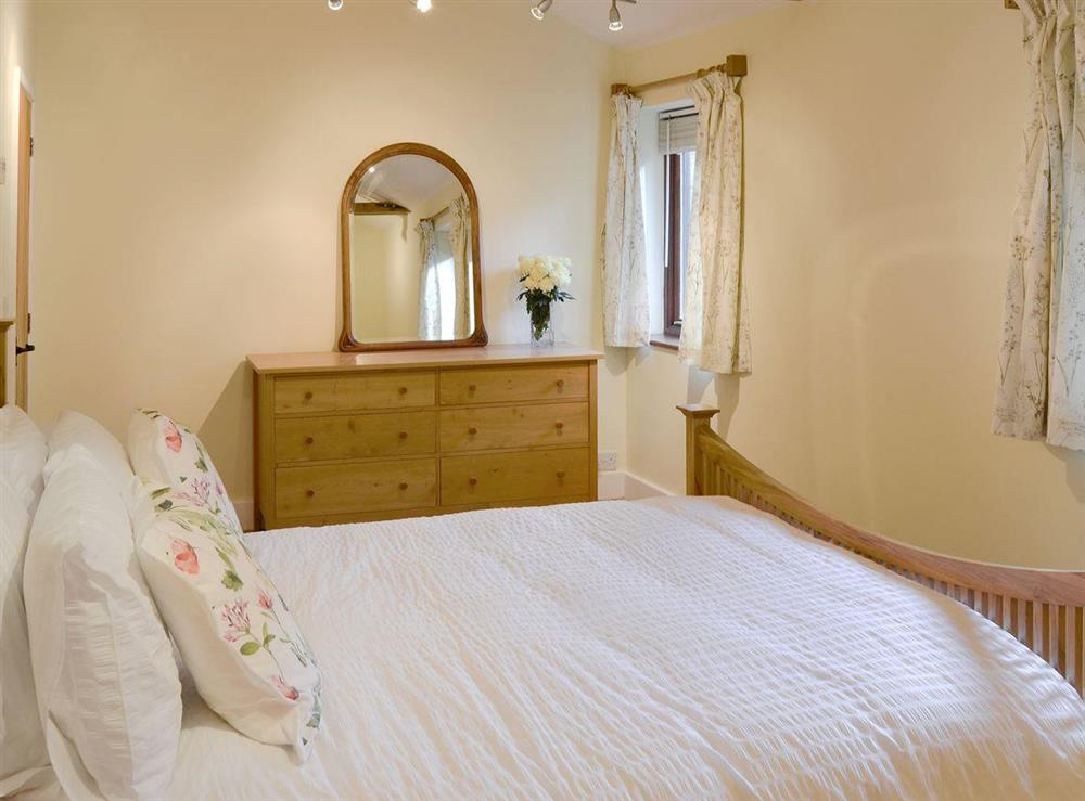 Comfy double bedroom at The Cattle Sheds in Knapton, near North Walsham, Norfolk