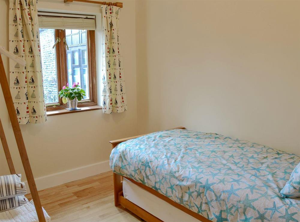 Cosy single bedroom at The Cattle Sheds in Knapton, near North Walsham, Norfolk