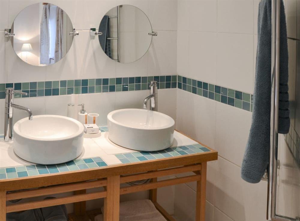 En-suite shower room at The Cattle Sheds in Knapton, near North Walsham, Norfolk