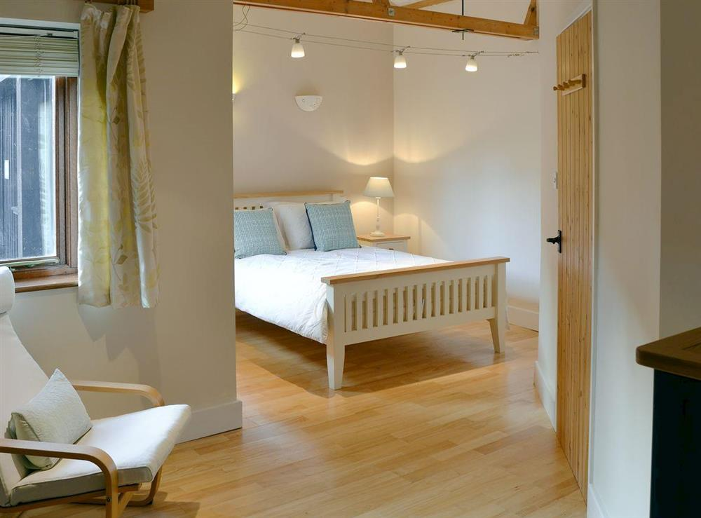 Large double bedroom at The Cattle Sheds in Knapton, near North Walsham, Norfolk