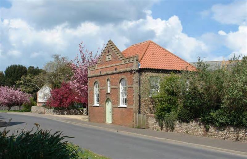 Outside The Chapel at The Chapel Thornham, Thornham near Hunstanton, Norfolk