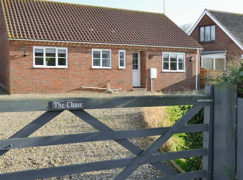 Spacious detached bungalow with parking for 4 cars at The Chase in Walcott, near North Walsham, Norfolk