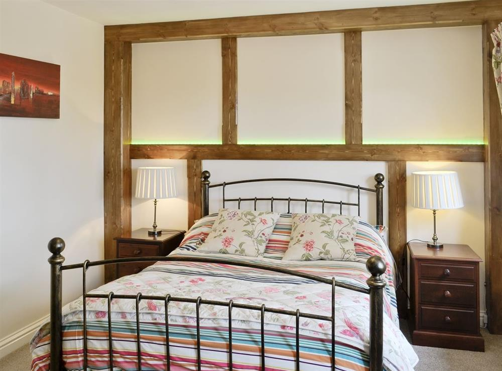 Double bedroom at The Cider House in Ledbury, Herefordshire