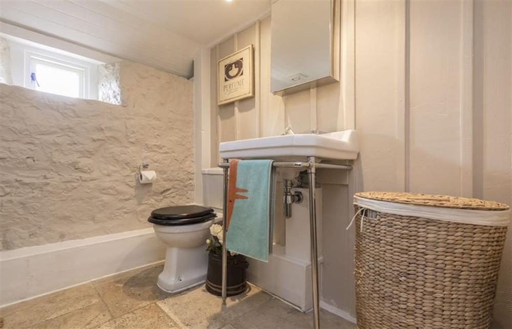 First floor: Bathroom with shower at The Cider Mill, Motcombe